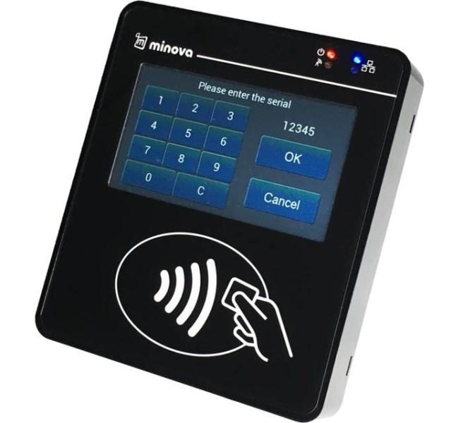 LOGO_MCR08 GSM-RFID Terminal/Kartenleser – Gerät für die cloudbasierte mobile Zeiterfassung