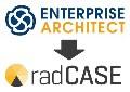 LOGO_ENTERPRISE ARCHITECT - Modell-Editor für radCASE