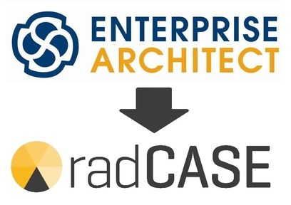 LOGO_ENTERPRISE ARCHITECT - Modell-Editor für radCASE