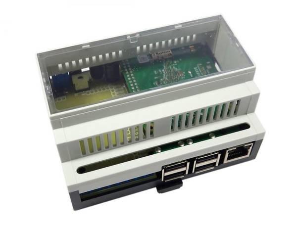 LOGO_RasPiBox Open – cap rail enclosure set for Raspberry Pi