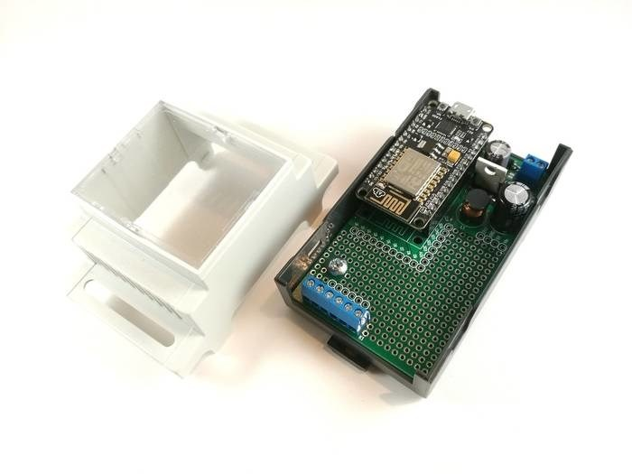 LOGO_Arduibox NodeMCU – Din rail enclosure set for NodeMCU /ESP8266