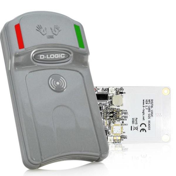 LOGO_µFR Classic NFC RFID reader writer