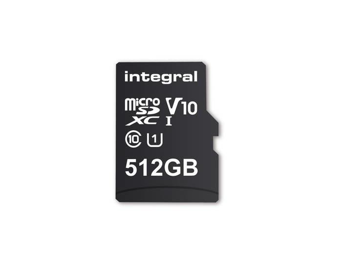 LOGO_512GB Smartphone and Tablet microSDXC V10 UHS-1 U1 Memory Card