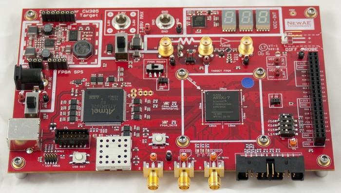 LOGO_CW305 Artix FPGA Target