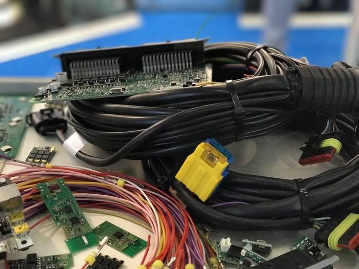 LOGO_CABLE AND WIRE HARNESS ASSEMBLY