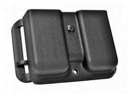 LOGO_RIA 1911 Single-Stack Double Magazine Pouch w/ Adjustable Stingray Loop .45 ACP