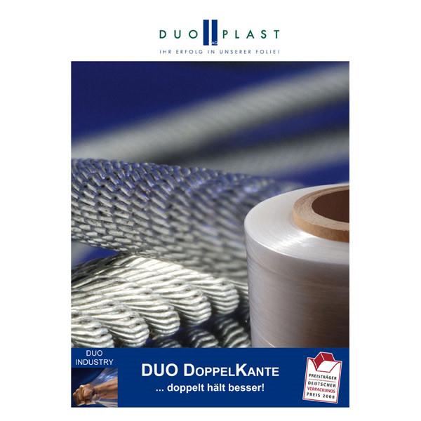 LOGO_DUO Doppelkante (DDK) – Stretchfolie zur Transportsicherung