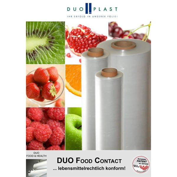LOGO_DUO FOOD CONTACT - Stretchfolie für den Lebensmittel-Direktkontakt