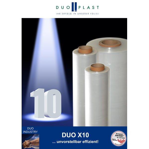 LOGO_DUO X10 - Die extrudierte 10 µm-Stretchfolie