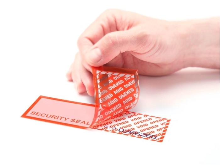 LOGO_Adhesive surface protector, Security tapes and labels