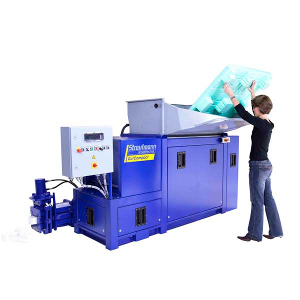 LOGO_New automatic briquetting compactor with prior size reduction