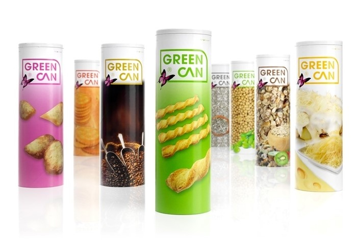 LOGO_GREENCAN®  Can round