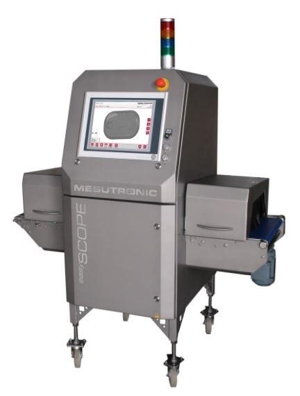 LOGO_easySCOPE - Fremdkörperdetektor für verpackte Stückgüter