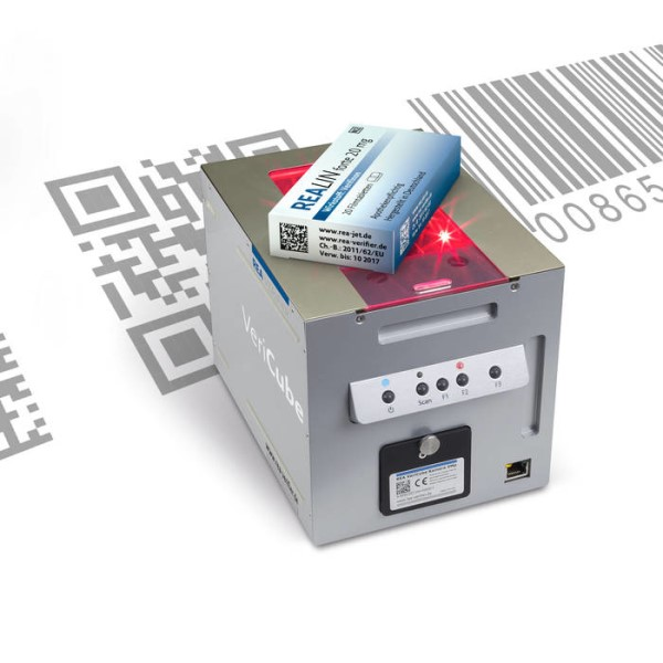 LOGO_Verification devices for barcodes (1D) and data matrix codes (2D)