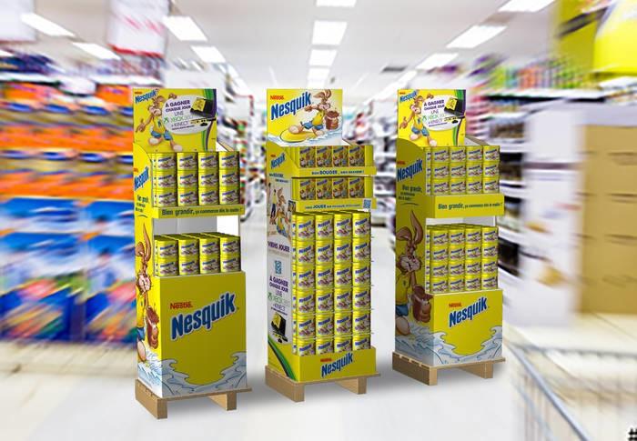 LOGO_Modulare Display-Range für Nestlé