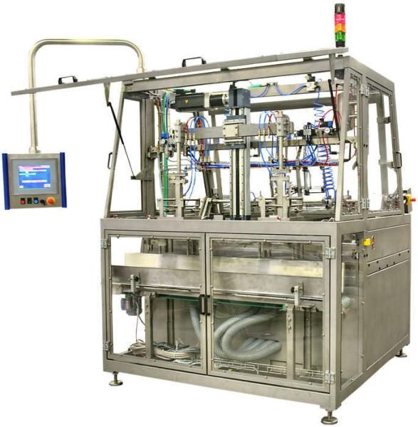 LOGO_Verpackungsmaschine zum automatischen Aufrichten und Formen von Faltschachtelzuschnitten