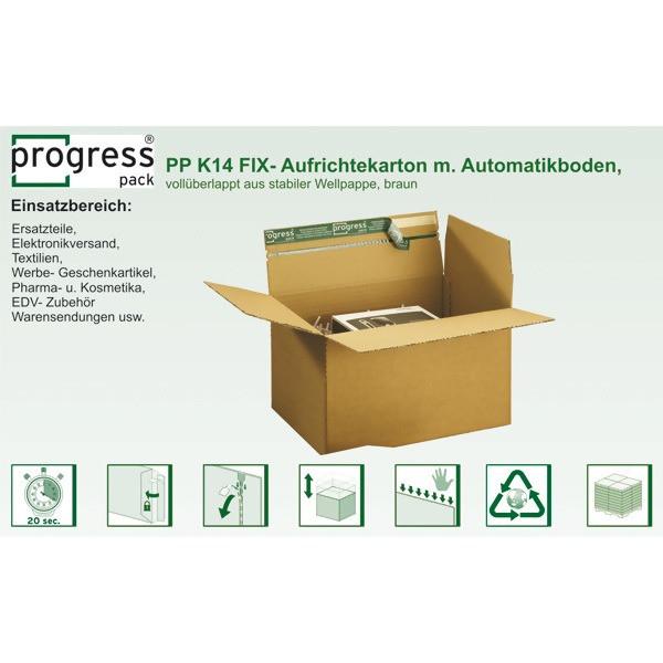 "LOGO_progressPACK® Fast-Foldingbox ""PREMIUM"""