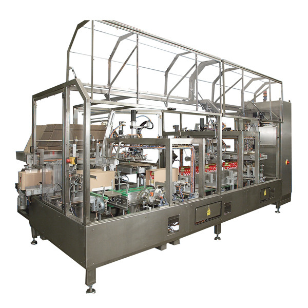 LOGO_HE-Tray: End-of-line packaging machine for Tray blanks