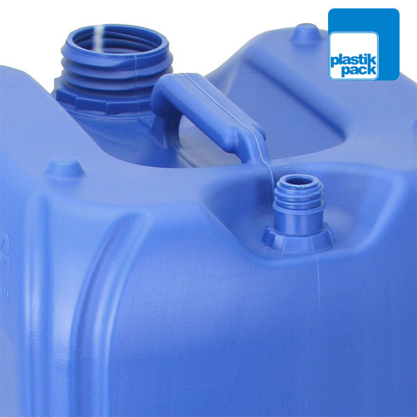 LOGO_Jerrycans with venting screw for a smooth drain