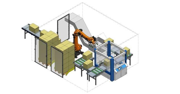 LOGO_ROC – flexibel konfigurierbare Roboter Zelle