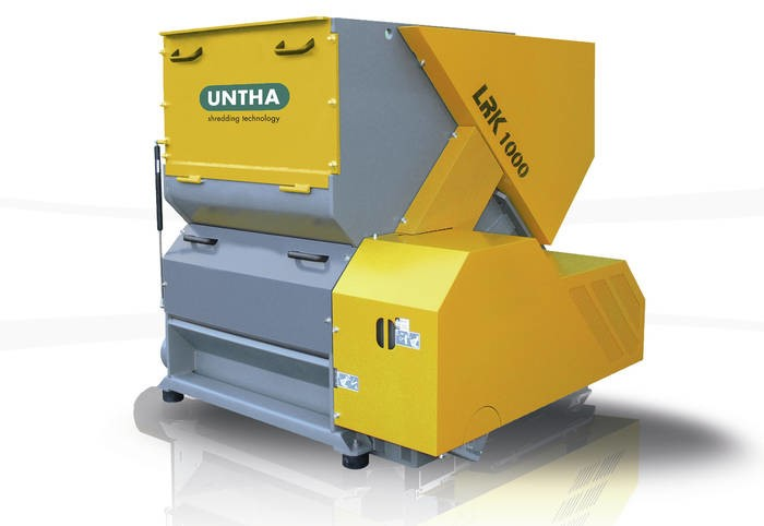 LOGO_UNTHA One-Shaft Shredder LRK1000 / LRK1400