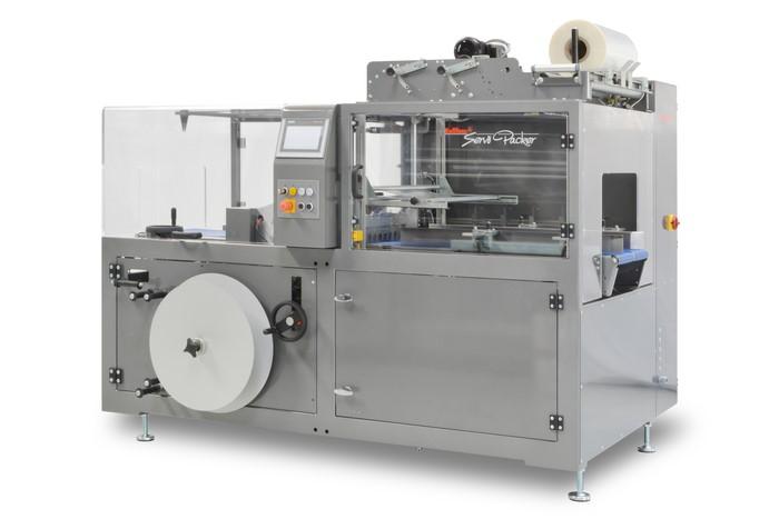 LOGO_Vollautomatische, taktende 2-Seitenschweißmaschine            SERVO PACKER  T