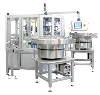 LOGO_Füllstation zur automatisierten Verpackung von Mint-Dragees in Kunststoffcontainer