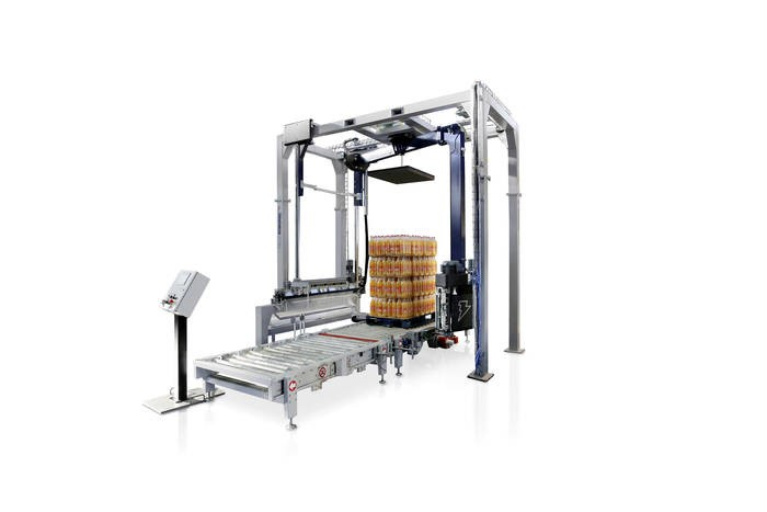 LOGO_ROBOPAC SISTEMI - Fully automatic pallet stretch wrapping machines and systems