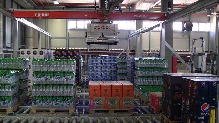 LOGO_Vollautomatische Getränkekommissionierung
