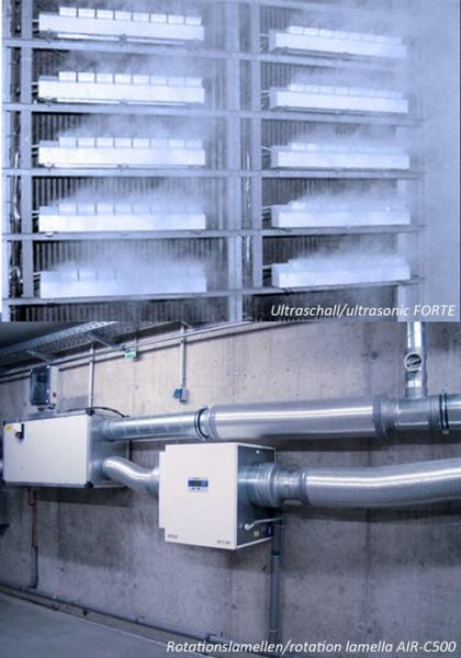 LOGO_Ultraschall und Rotationslamellen Luftbefeuchtung