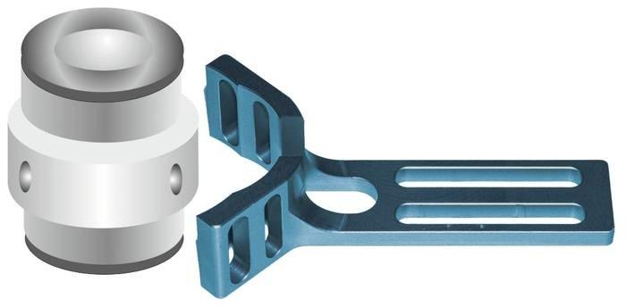 LOGO_AirGripperhalter mit Pneumatischen Aussengreifer