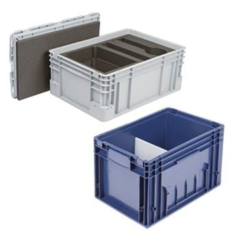 LOGO_Kleinladungsträger (KLT) und Kunststoffbehälter