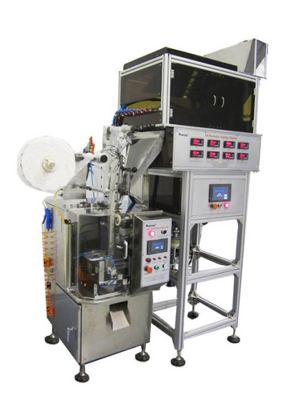 LOGO_DXDCT-E8 automatic pyramid tea bag packing machine with electronic 8 vibrating channel dosing system