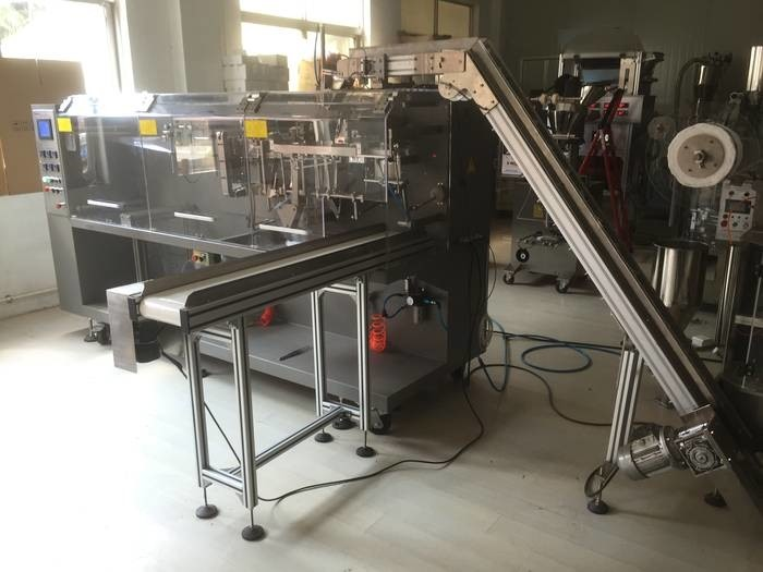 LOGO_DXDCT-W140 automatic pyramid tea bag outer envelope packing machine