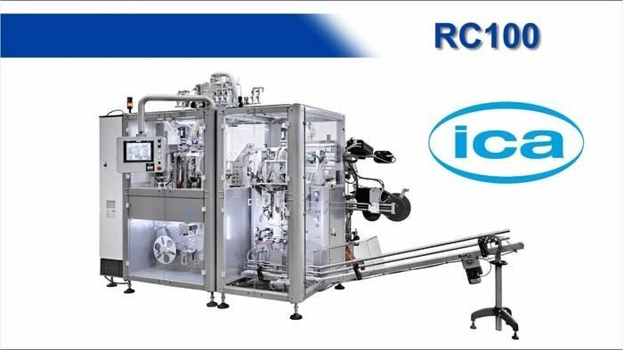 LOGO_RC100 Kaffeekapseln Abfüllmaschine mit kleiner Kapazizät