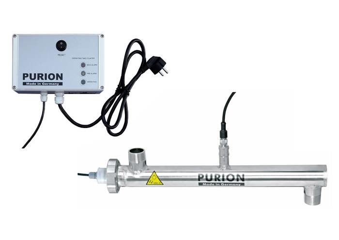 LOGO_PURION UV plants for disinfection of liquids