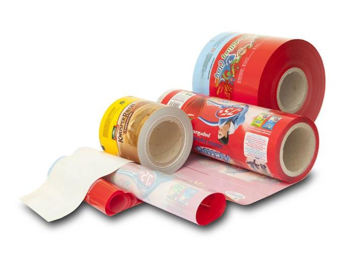 LOGO_Folien mit Barriere, Folien auf Schalen, Etiketten-Folien für PET Flaschen, Antifog, Kaltsiegel, partielle Lackierung
