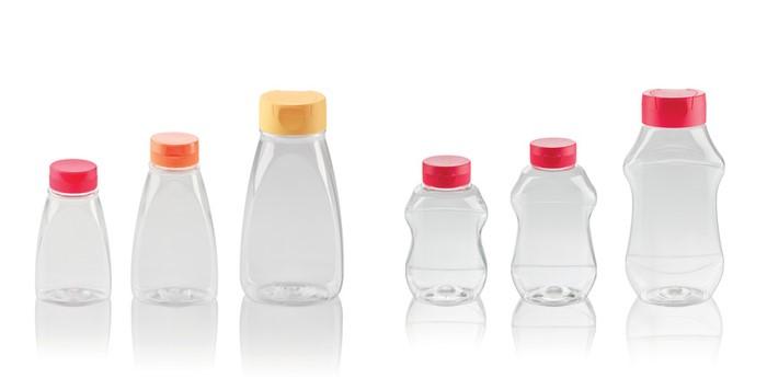 """LOGO_""""Ketcho"""" & """"Ginger"""" Squeezer bottles"""