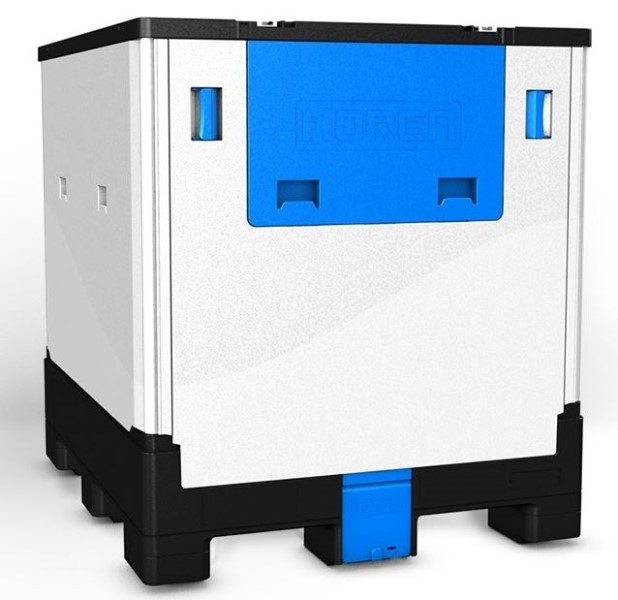 LOGO_HOREN IF1040 foldable plastic IBC