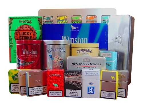 LOGO_Cigarette and Tobacco Tins