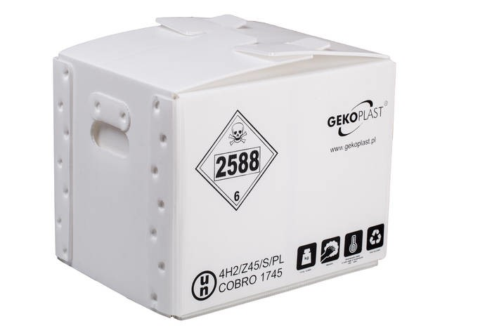 LOGO_Packaging for hazardous materials GEKOPLAST®