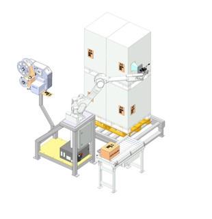 LOGO_Produkt- und Palettenetikettierung mit Robotern: K-Label von Kawasaki