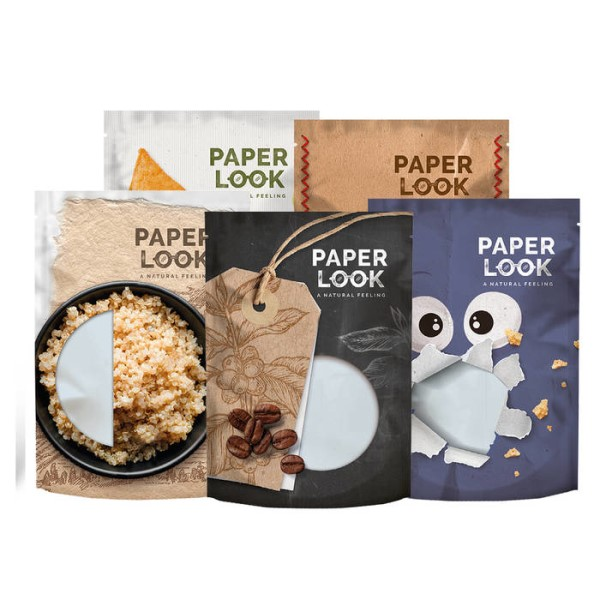 LOGO_PAPER LOOK - flexible packaging goes natural