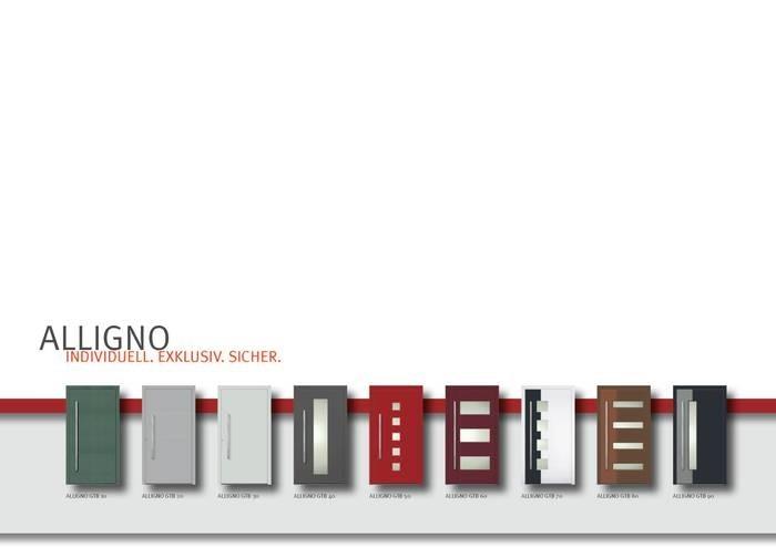 LOGO_GUTMANN ALLIGNO – Design Aluminium-Türblätter für Haustüren