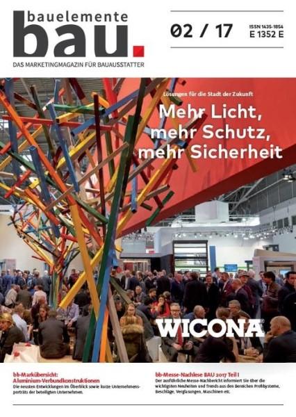 LOGO_Bauelemente Bau - Ausgabe 02/2017