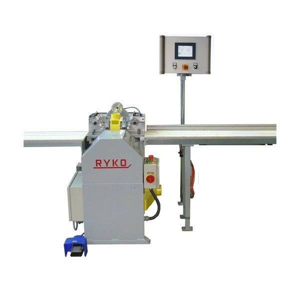 LOGO_Length stop system Touch Screen with glazing bead saw