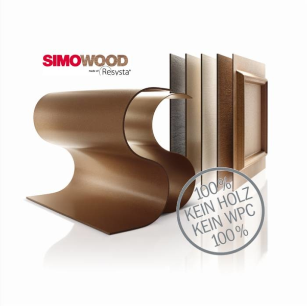 LOGO_SIMOWOOD made of Resysta®