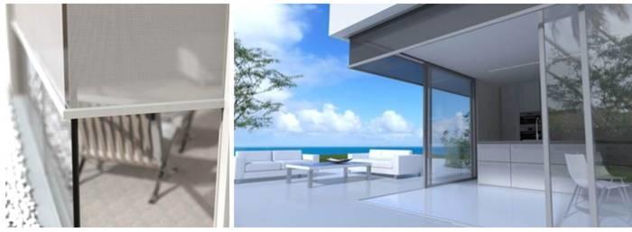 LOGO_RENSON® Panovista®: Neue Sonnenschutzlösung für Eckfenster