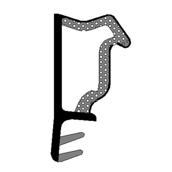 LOGO_D-3630  3 Komponenten TPE-Extrusion/Schaum TPV Gleichdichtung