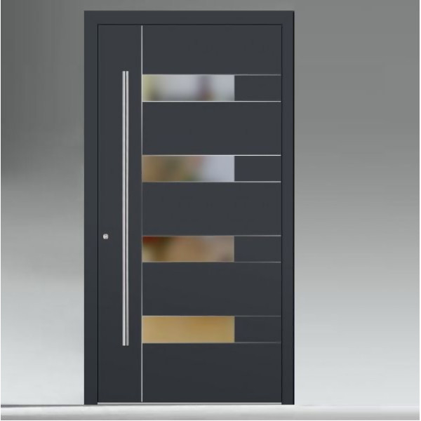 LOGO_Entrance doors with attachment panel